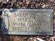 Sarah Jane Hardin