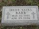 Profile photo:  Alta Irene <I>Yates</I> Babb