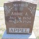 Profile photo:  Abbie A Appel