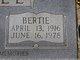 Bertie <I>Brooks</I> Ball
