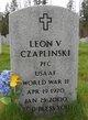 Profile photo:  Leon V Czaplinski