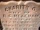 Charity Olivia <I>Garrott</I> Meacham