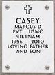 Marcus D Casey