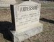 Anna Corinna <I>Frazier</I> Anderson
