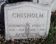 Profile photo:  Elizabeth <I>Richardson</I> Chisholm