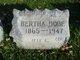 Profile photo:  Bertha <I>Boettcher</I> Dobe