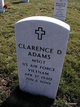 Profile photo:  Clarence Dale Adams
