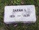 Sarah Louise Welch