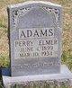 Perry Elmer Adams, Sr