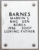 Profile photo:  Marvin L Barnes