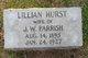 Lillian Louise <I>Hurst</I> Parrish