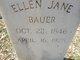 Ellen Jane Bauer