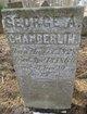 Profile photo:  George A. Chamberlin