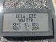 Eula Dee <I>Yeomans</I> Walker