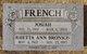 Rhetta Ann <I>Bronson</I> French