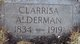 Clarrisa S Alderman