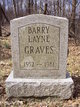 Profile photo:  Barry Layne Graves