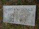 Profile photo:  Gladys M <I>MacDonald</I> Garvey