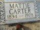 Mattie Carter