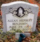 Profile photo:  Alean <I>Herbert</I> Benjamin