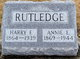 "Anna Elizabeth ""Annie"" <I>Leistner</I> Rutledge"