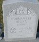 "Profile photo:  Norman Lee ""Buddy"" Allen"