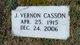 Profile photo:  J Vernon Casson