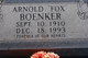 "Profile photo:  Arnold Fritz ""Fox"" Boenker"