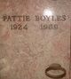 """Patricia Mary """"Pattie"""" <I>Jackson</I> Boyles"""