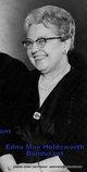 Profile photo:  Edna Mae <I>Holdsworth</I> Bondurant
