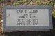 """Profile photo:  Capilola T. """"Cap"""" Allen"""