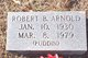 "Robert Brooks ""Puddin"" Arnold"