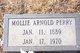 Mollie Edith <I>Arnold</I> Perry