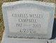 Profile photo:  Charles Wesley Campbell