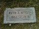 Profile photo:  Ruth Allen <I>Hills</I> Hittson
