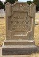 """Millie Estel """"Willie"""" <I>Carnes</I> Richards"""