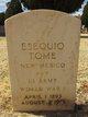 Pvt Esequio Tome