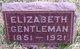 Profile photo:  Elizabeth Margaret <I>Fleming</I> Gentleman
