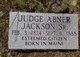 "Profile photo:  Abner ""Judge"" Jackson, Sr"