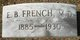 Dr Eugene Brewster French