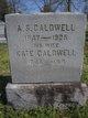 Profile photo:  A. S. Caldwell