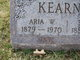 Profile photo:  Aria W. Kearney