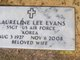Laureline <I>Lee</I> Evans