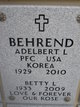Profile photo:  Adelbert L Behrend