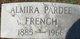 Almira <I>Pardee</I> French