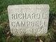 Profile photo:  Richard Lawrence Campbell