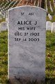 Profile photo:  Alice J Barlett
