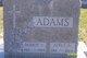 Profile photo:  Adele A. <I>Radelin</I> Adams