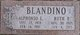 """Profile photo:  Alphonso L. """"Al"""" Blandino"""
