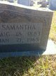 Samantha Florence <I>Avery</I> Williams